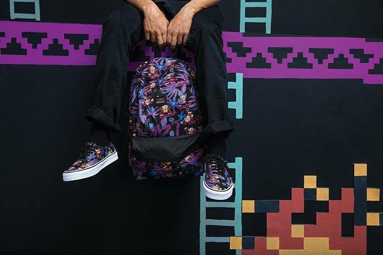 La colección #VANSxNintendo también incluye mochilas y caps. Chequeá los puntos de venta en Facebook.com/vans.arg