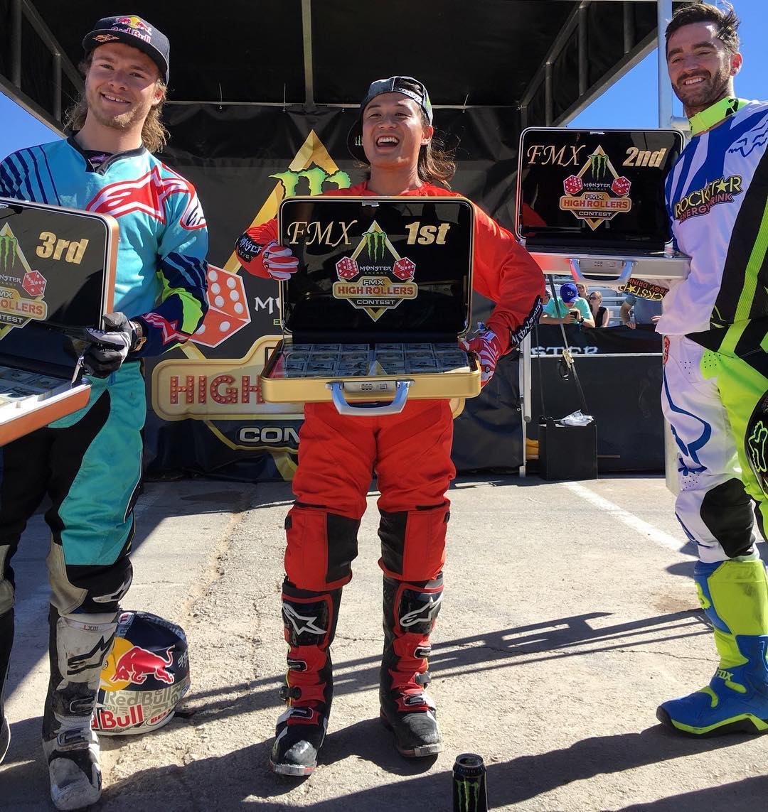 Moto X Freestyle First – @TakaFMX