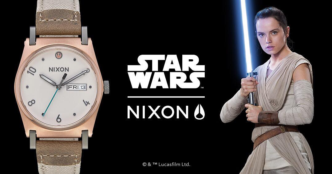 Jane meets Rey in this one-of-a-kind classic. The #JaneLeather, inspired by the resilient and tough Rey. #StarWars | #Nixon
