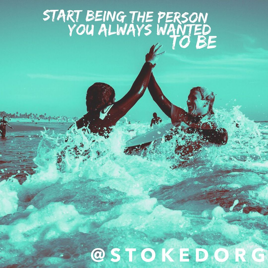 Start being the person you always wanted to be