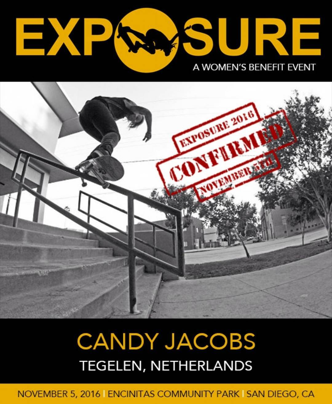 @candy_jacobs is gonna bring fire to our Pro Street Competition!!