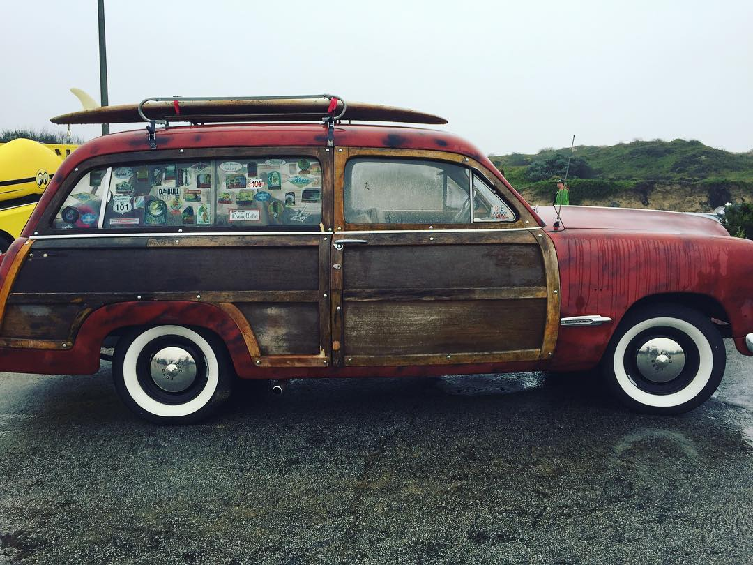 Weekend Woodie - spotted by Mr. #WEST down in Central CA this rainy weekend .