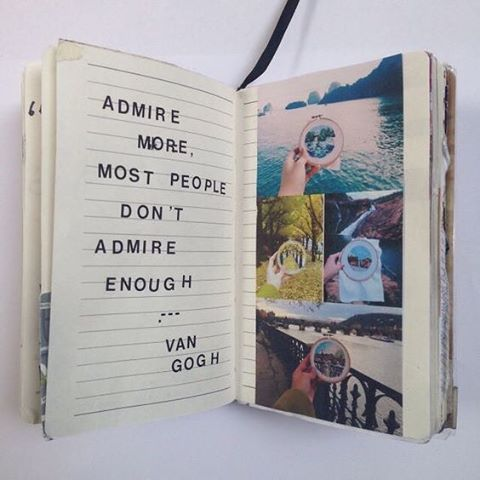 Write, draw, collage; what you put #pentopaper extraordinary things occur. Words become reality.