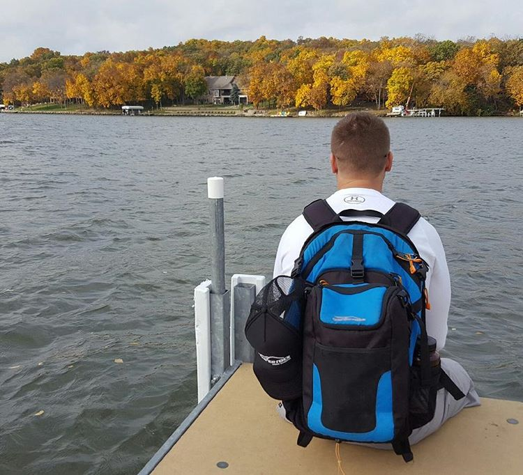 Our first time to Iowa! Short trek to Lake Panorama with the Cascade backpack & cooler. #getoutside #lakes #IA #midwest #xplorewild #graniterocx #outdoorsrocx