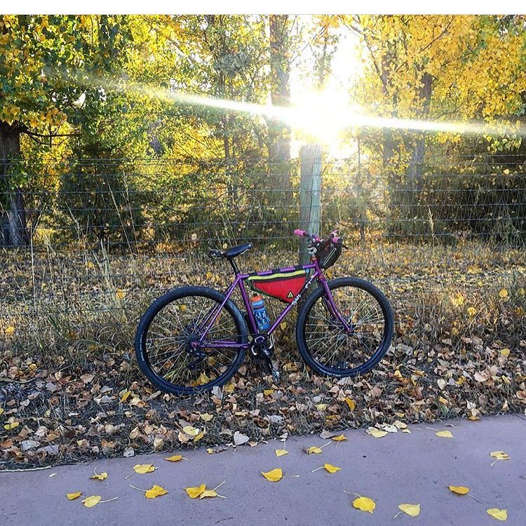 Check out a photo from follower @fittreee of her bike adventures this past weekend in Fort Collins! Fall is definitely a beautiful time of year. #exploremore #upgradetoupcycled #upcycled #colorado