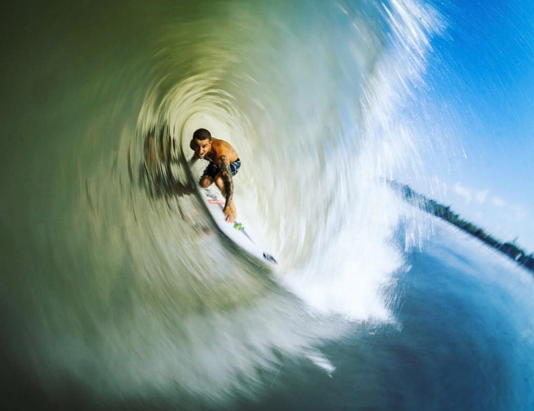@__billyhopkins tunnel vision in Bali
