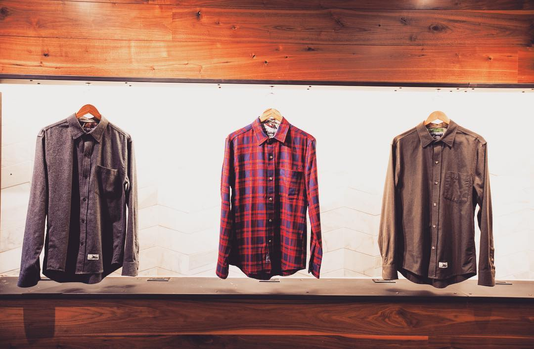 First look at this year's Pladra pop-up shop in SF. We will be opening soon and go through the end of the year for all your flannel needs. More details to come.... #madeinusa #fall #flannel #popupshop #sanfrancisco