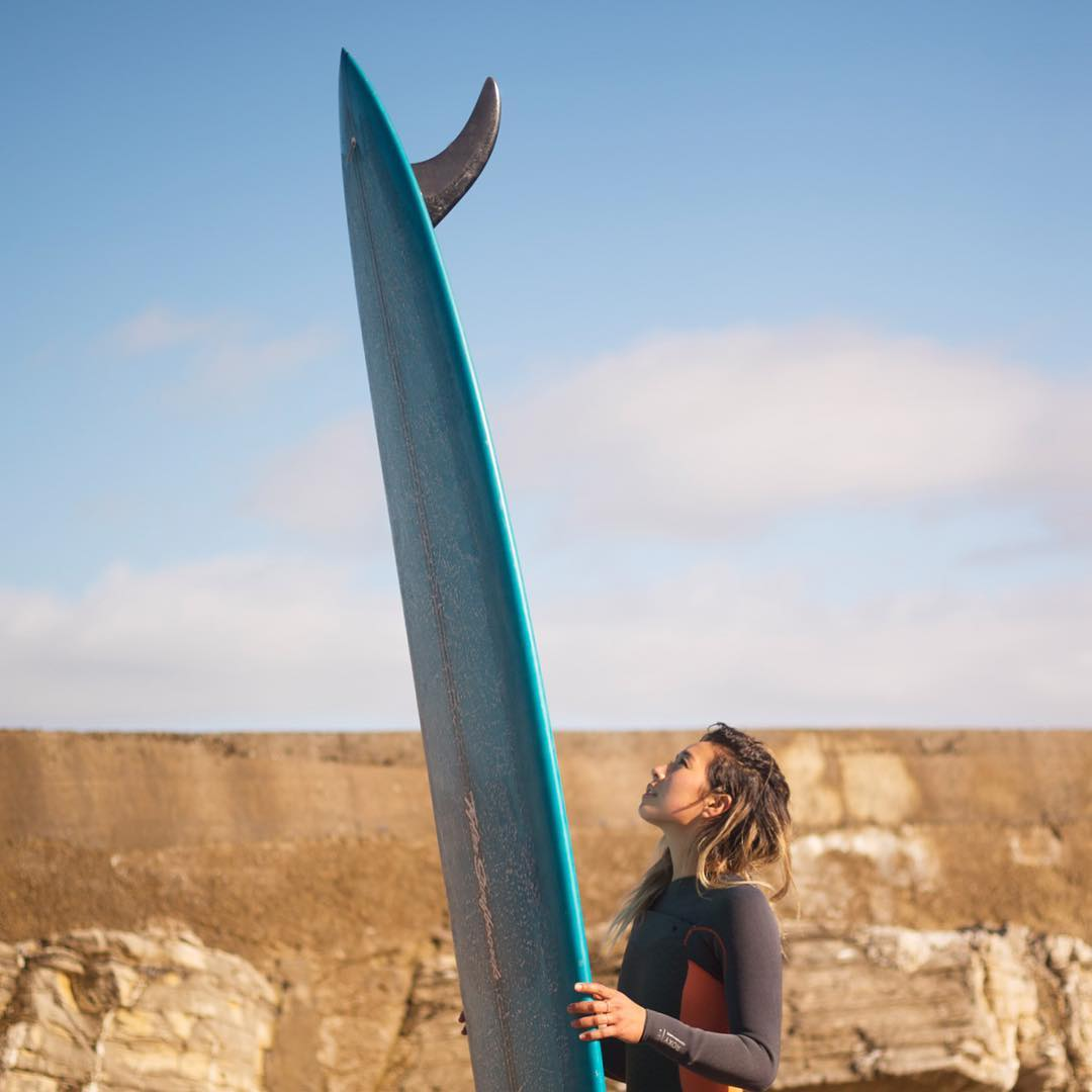The best way to start a new week includes a single fin, are we right? #ROXYsurf