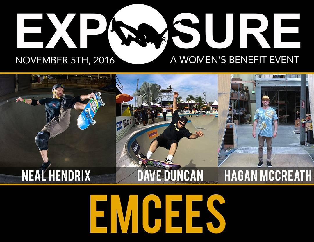 YESSS!!! Emcees are set! Thank You @nealhendrix, @doubleddunc, and @haganmccreath!! Exposure 2016 is almost here!!!