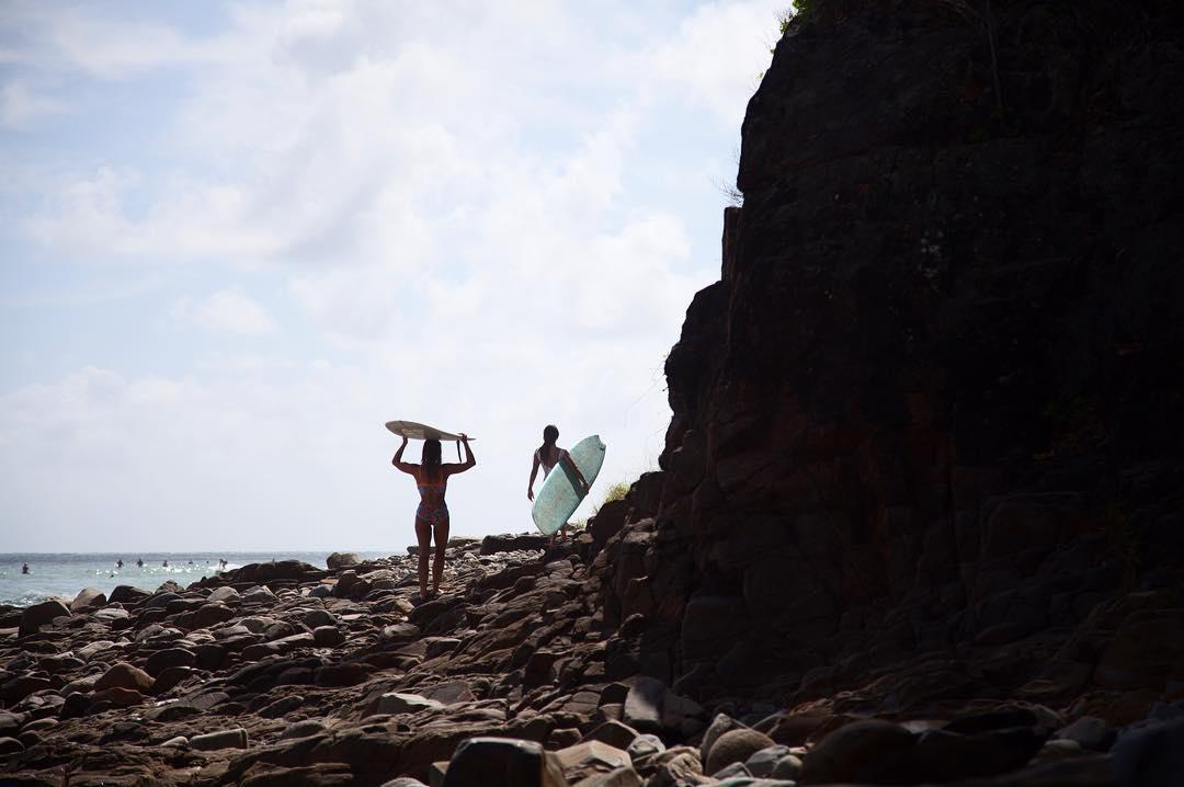 @karinarozunko and @lolamignot migrating to better waves #seeababes @myseealife