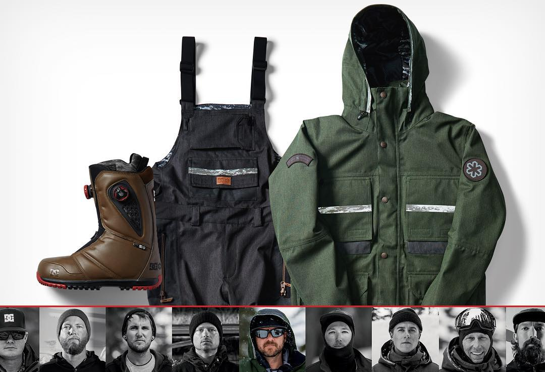 Introducing the DC x @snowparktech Cold War Outerwear Collection for Winter 2017 featuring the SPT Company jacket, SPT Platoon bib, and SPT Judge snowboarding boot. A purpose-built collection for the everyday soldier in all of us. Shop the collection...
