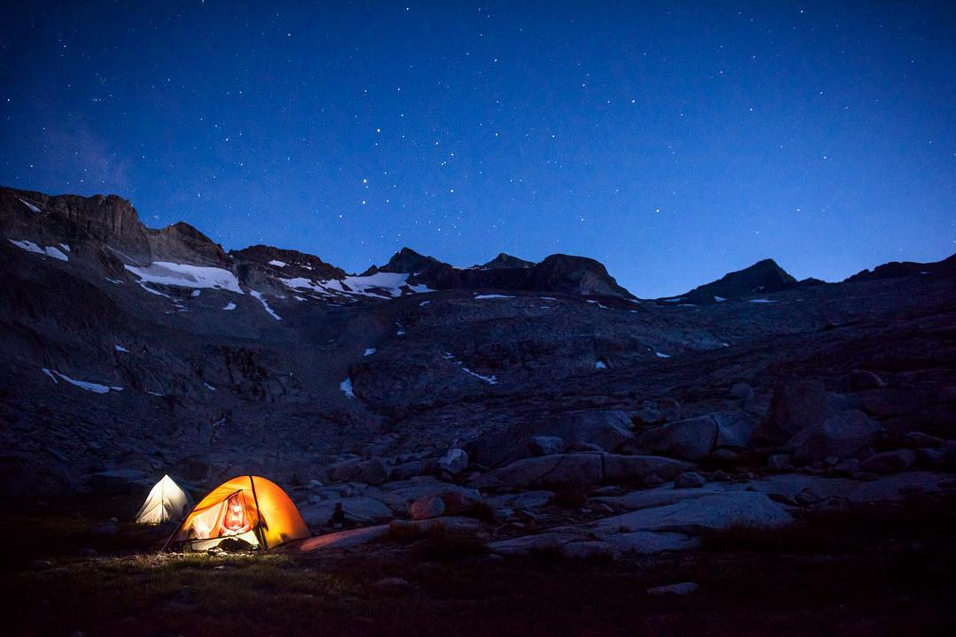 Retracing John Muir's footsteps to Yosemite's Lyell Glacier. Read @carolinegleich and @meg_haywoodsullivan's story about their trek to the shrinking glacier here: http://on.natgeo.com/2dwVzbB #getoutstayout