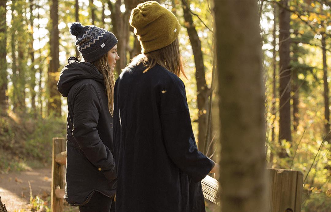 Fall's in full swing, ladies. The Asher and The Winters are here for the cooler weather.