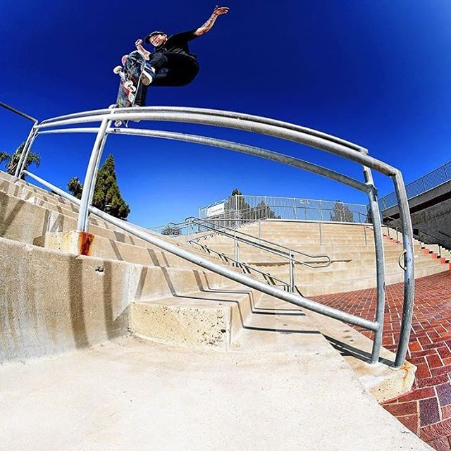 @nyjah with a hefty switch front feeb featured in @theskateboardmag captured by #ElementAdvocate @jakedarwen