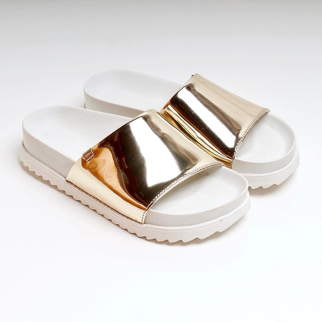 S U M M E R  2 0 1 7 ☀️️ Sandalias Milha™ Gold Mirror, un outfit para los días de calor!