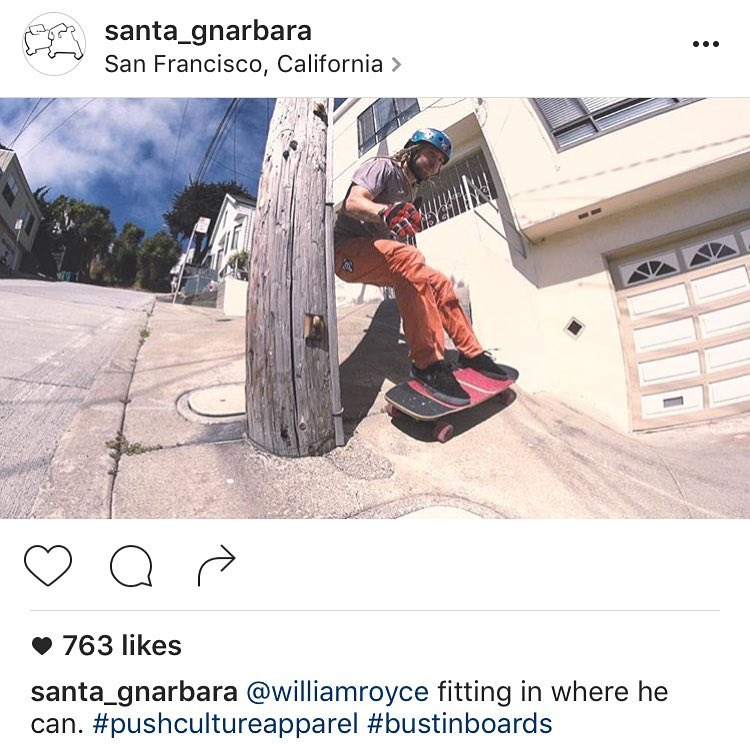 Putting the finishing touches on the new video this week! Screen grab from @santa_gnarbara #pushcultureapparel #crashpants #willroyce