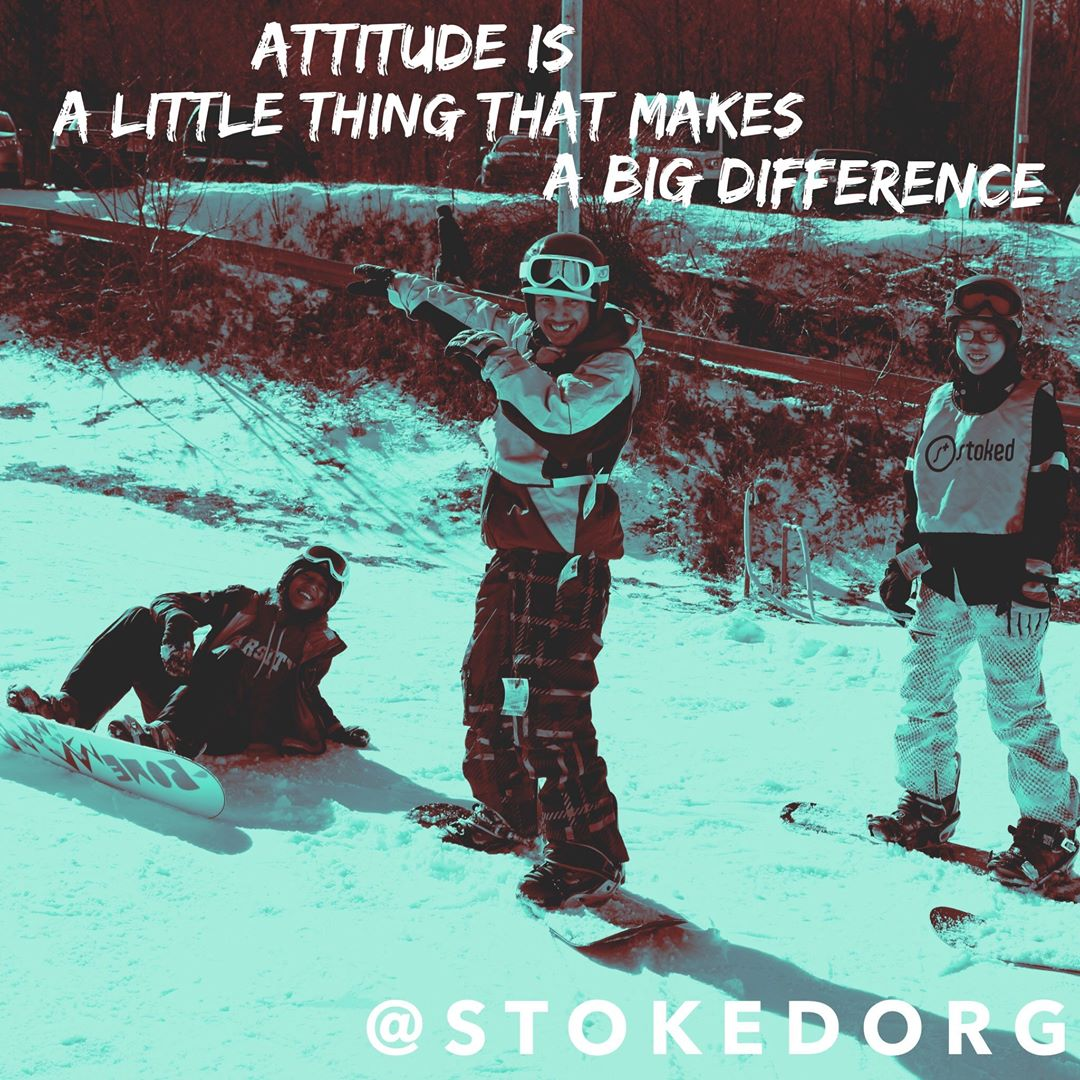 Attitude is a little thing that makes a big difference