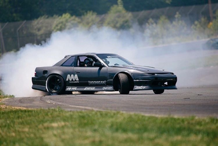 LAST CALL for #GOLDSTICKERTIME: our dude @dylanhughes129 took the US Drift Championship in his LS3 powered s13! You know the deal - we win, you win!  _______ For the next 48 hours every order on #hooniganDOTcom gets a free gold die cut sticker, orders...