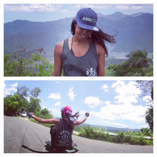Our chika @pamdiazz has a new video up in her #youtube channel keeping it #holesom in her local hills in Dominican Republic!!! Peep it homiez