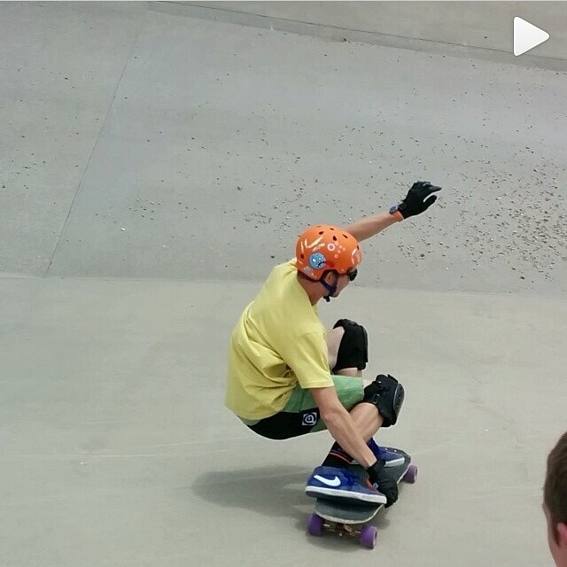Go to @patrickswitzer's profile and click play on this video! Getting low and Slashing #thebear