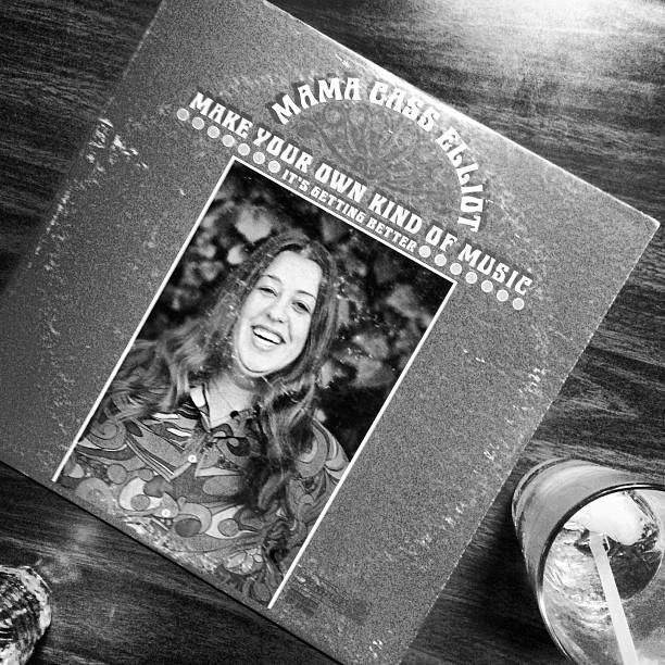 Found this gem at the bar. #mamacass #americanlegion #beverlyma  #vinyl