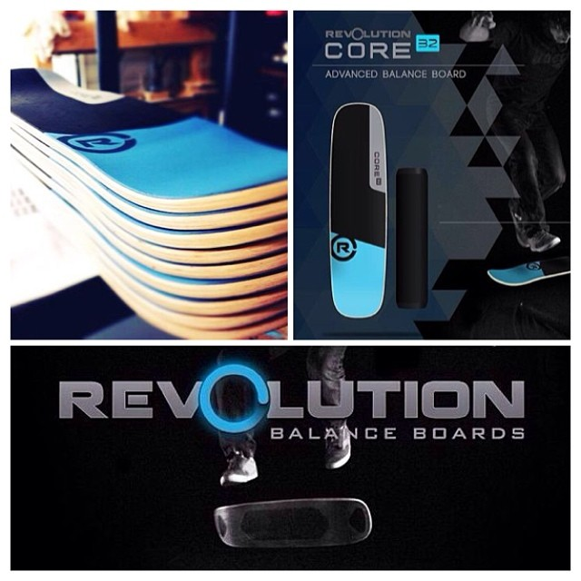 // Our Core 32 balance board is the best out there for tricks and crazy maneuvers //