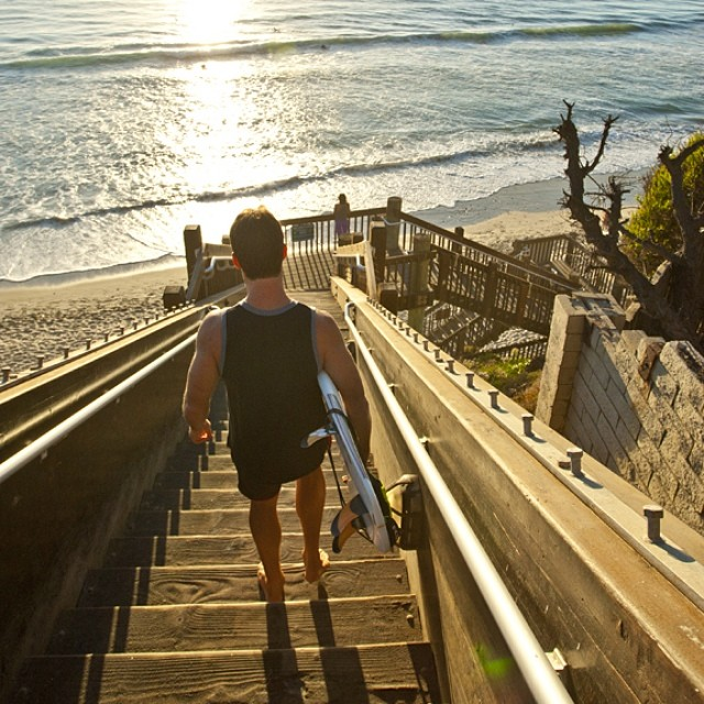#Sunset Sessions in #SoCal . featuring the ShermanTank from our Sprall14 line. #MindfullyManufactured #Surfing
