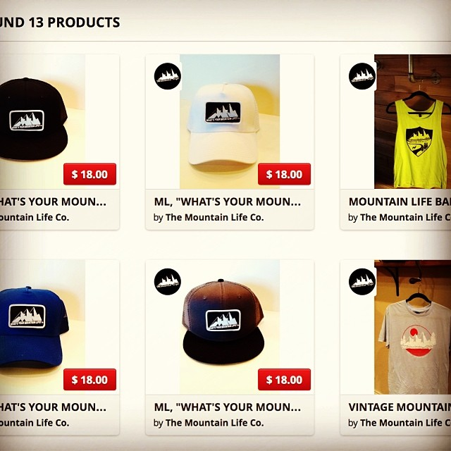 We are getting our products Online. All of the new hats are available on our Ecommerce platform. Goodpeople.com/themountainlife  There is very limited stock on many colors and sizes. #gobig #dogood #apparel #bmx #bouldering #backcountry #camping...