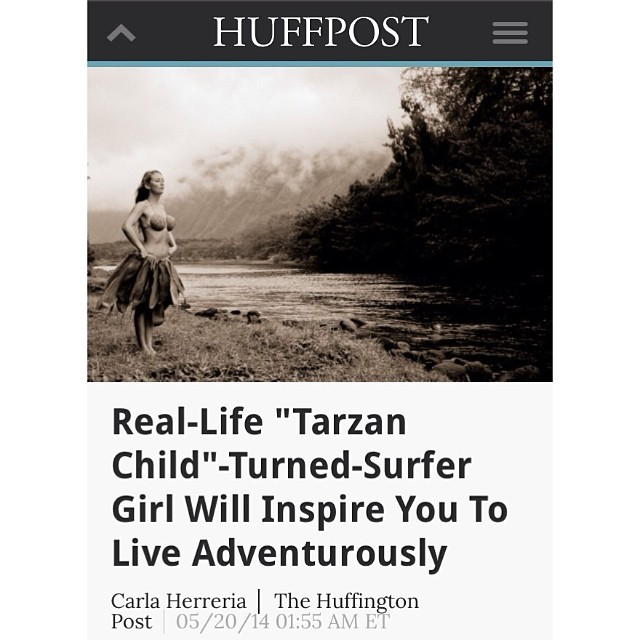 @alisonsadventures the #Tarzan #child of the #Odina #surf #team just got #featured on #huffingtonpost http://m.huffpost.com/us/entry/5250954 and we also #launched her #alisonsadventures #special #edition #bikinis at...