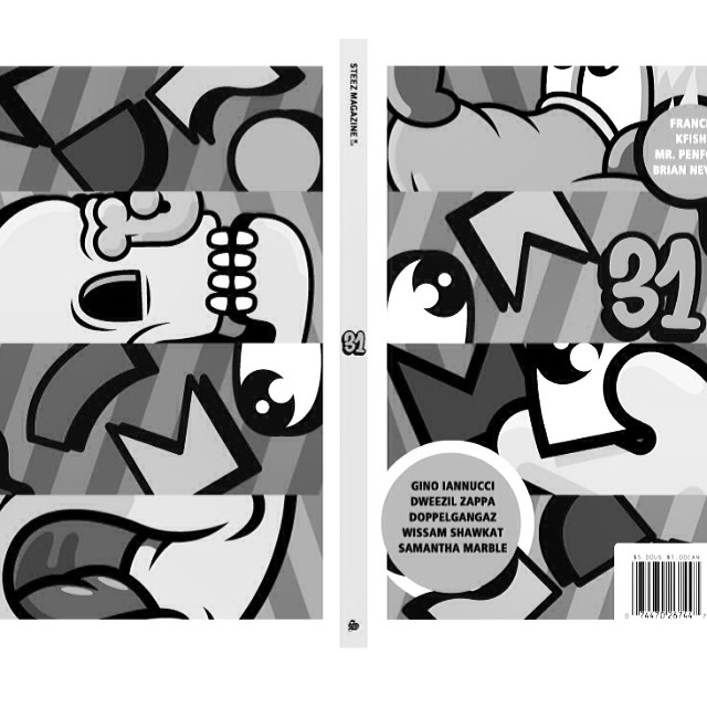 Full cover image by @mrpenfold for #Issue31 #steezmagazine online now #mrpenfold #seeitincolor