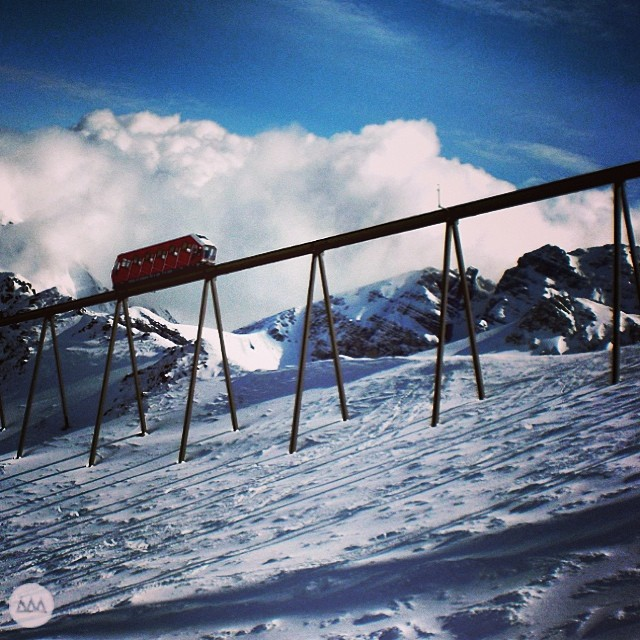 Axamer Bahn. Built for the 1964 Winter Olympics. #tbt #austria #skitravel #exploremore #alps #GNARCISSISTIC