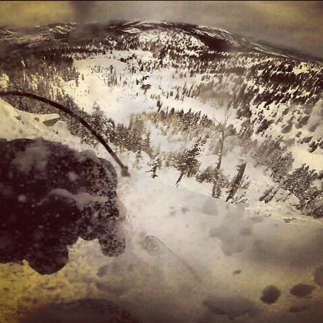 "40"" at mammoth yesterday? Sold. #winterliveson #GNARCISSISTIC #hemlocks #mammothstories"