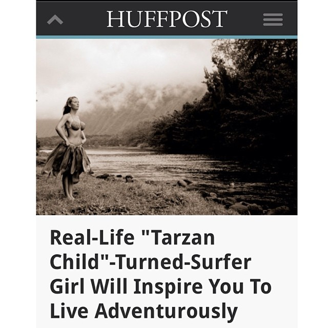 Wow! Very honored to be featured in the @huffingtonpost today!  Link is on my profile!  An inside look at my life as a film maker & adventurer, my daily efforts to change the world, and my love for nature & home sweet #Hawaii  And a never seen before...