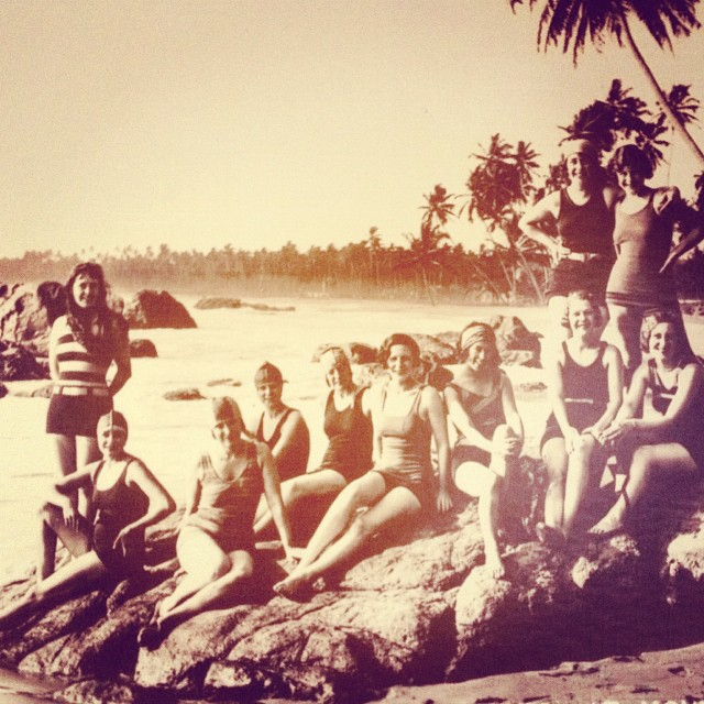 The original #localhoney girls.  Our inspiration for today comes from the past and women who are not afraid to be themselves! #inspiration #localhoneydesigns #1920s #mountlavinia #beyou #love #adventure #travel #trendsetters #swim #reversible #fashion...