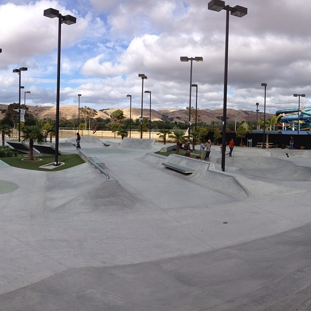 #TriviaTuesday. Who knows what park this is? #skate #skatelife #skateboard #skateboarding #skatepark #skateparks