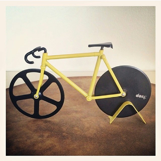 Fixed Gear Pizza Cutter! #forthewin #awesome #pizza #boombotix