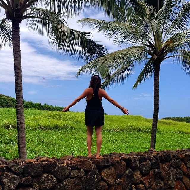 #mahalo4life for this one, @michelle_tuscany | Spreading the power of High Fives across the island of Kauai