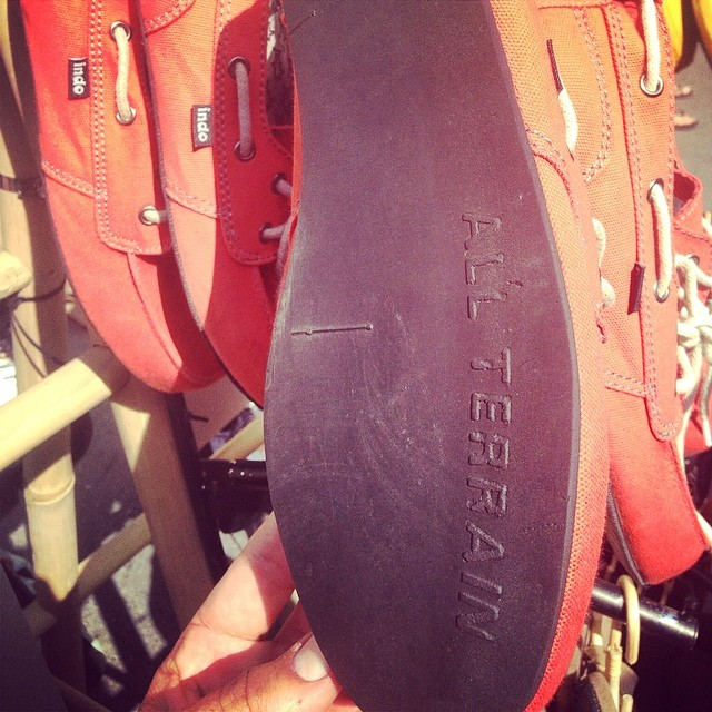 All Terrain Vehicles // What's on the soles of your shoes? #ATV #balifornia #soleswithsoul #coralprahushoe
