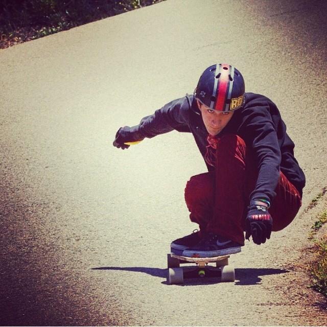 Regram @valhallaskateboards @f_cooper_d #cooper #skate #fast #santabarbara #freeride #s1helmets #filming #sesh last weekend
