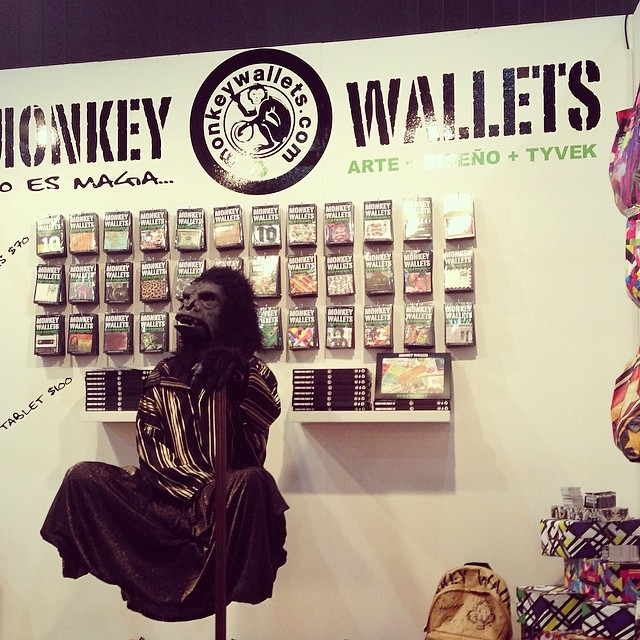 #monkeywallets #fpd2014 #purodiseño @monkeywallets  #tyvek