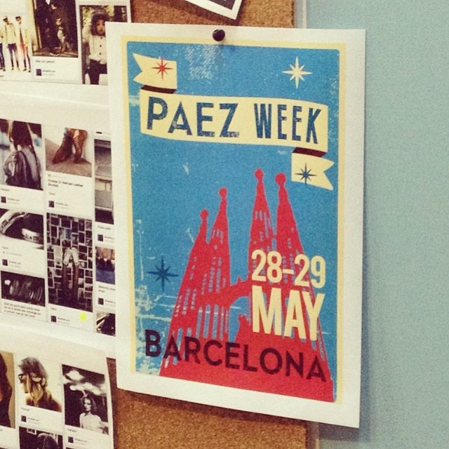 Next week we will receive in #barcelona our teams from all over the world to think together unforgettable things for you!!! #paezcommunity #paezweek