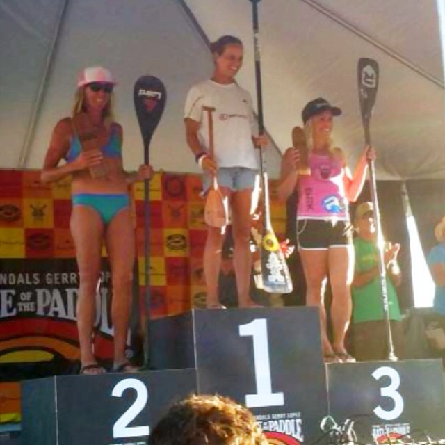 We want to congratulate @kimberlyhopegomez  of Santa Cruz for her awesome 2nd place finish at Battle of the Paddle last weekend! So proud of you Kim and glad you like your new bikini!