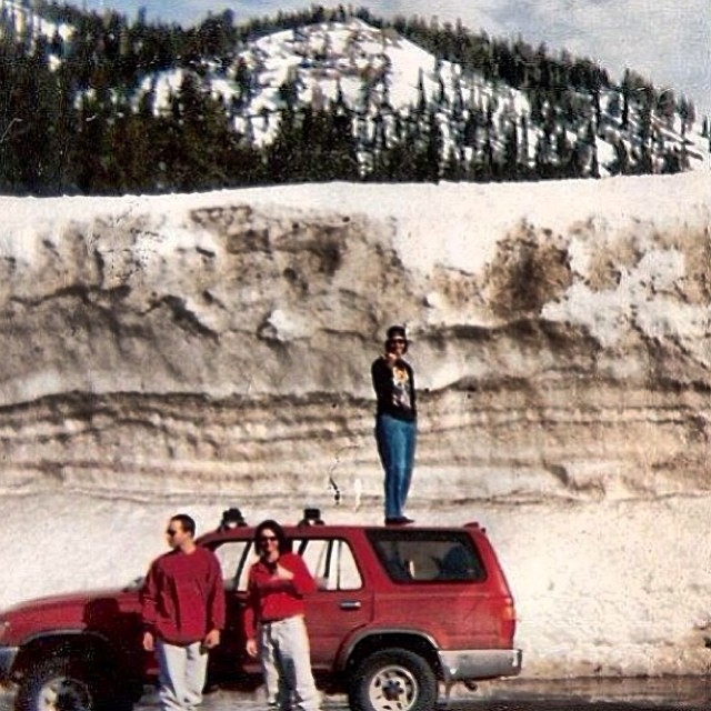 The west shore of Lake Tahoe circa 1995.  Maybe next year.  Photo @liftjunky