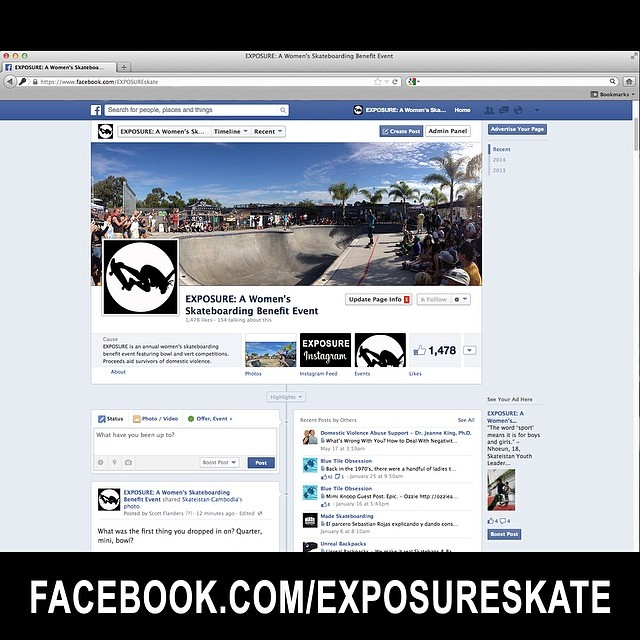 Please join our community and give our #Facebook page a like! Thanks for all of the love and support! facebook.com/exposureskate #skate #skateboarding #skatelife #skateboard #besocial