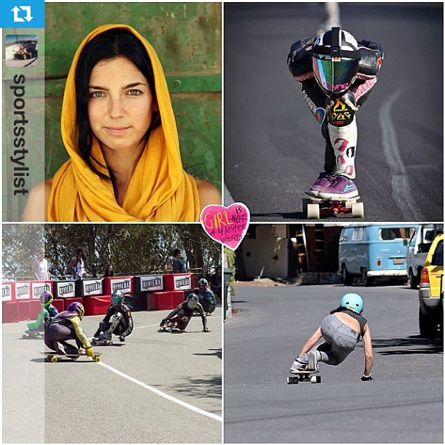 #Repost from @sportsstylist: Fast, adventurous and stylish, XS rider @cocomarii is featured on @girlisnota4letterword today. Check it out! #xshelmets #marisanunez #GN4LW #shesfast