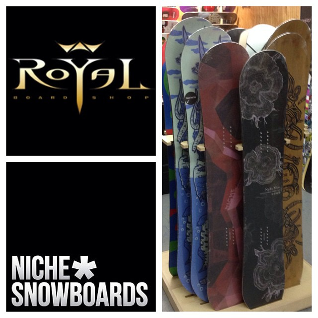 Looking for Niche gear in/around Calgary? Come and get it at @royalboardshop!