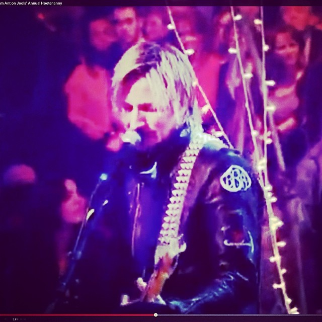 Has it been a year already?  It was a year ago when Adam Ant's bass player wore a BBR patch on his leather jacket on the Jools Holland New Years Eve 2013 show.  Thanks again to Adam and his band.  THANK YOU TO ALL OUR FRIENDS for a wonderful year.  We...
