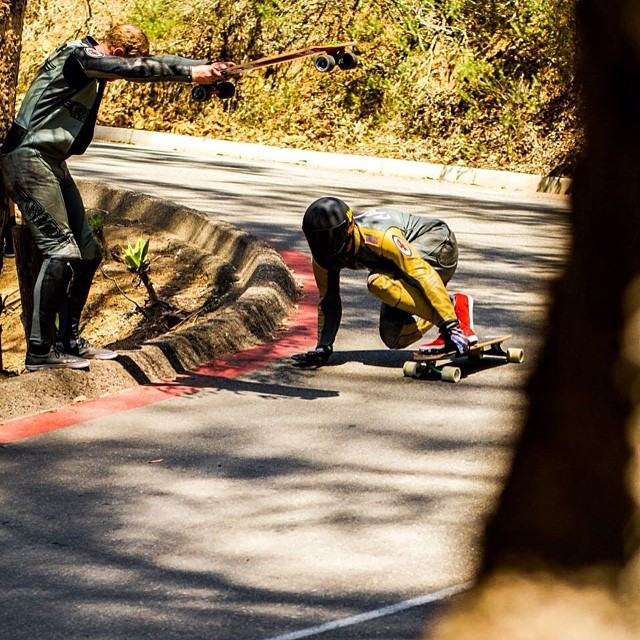 @rad_train captured a rad photograph of Team rider--@mcarsonlikescats at the Catalina Island Classic!  Visit rad-train.com for the full write up.