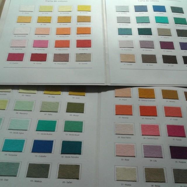 Decidiendo la paleta de color para la temporada que viene  #perrabastarda #2014 #fashion #tshirts