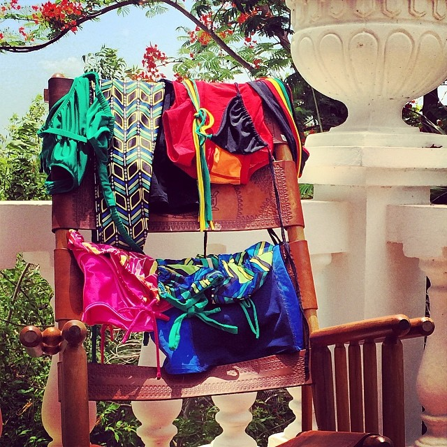 Decisions, decisions...what bikini to wear today?? Want to rock a Mi Ola suit too? Here is your chance to win a free Mi Ola bikini:  We are teaming up with The Surf Channel and giving away a free Mi Ola bikini.  All you have to do is post a photo of...